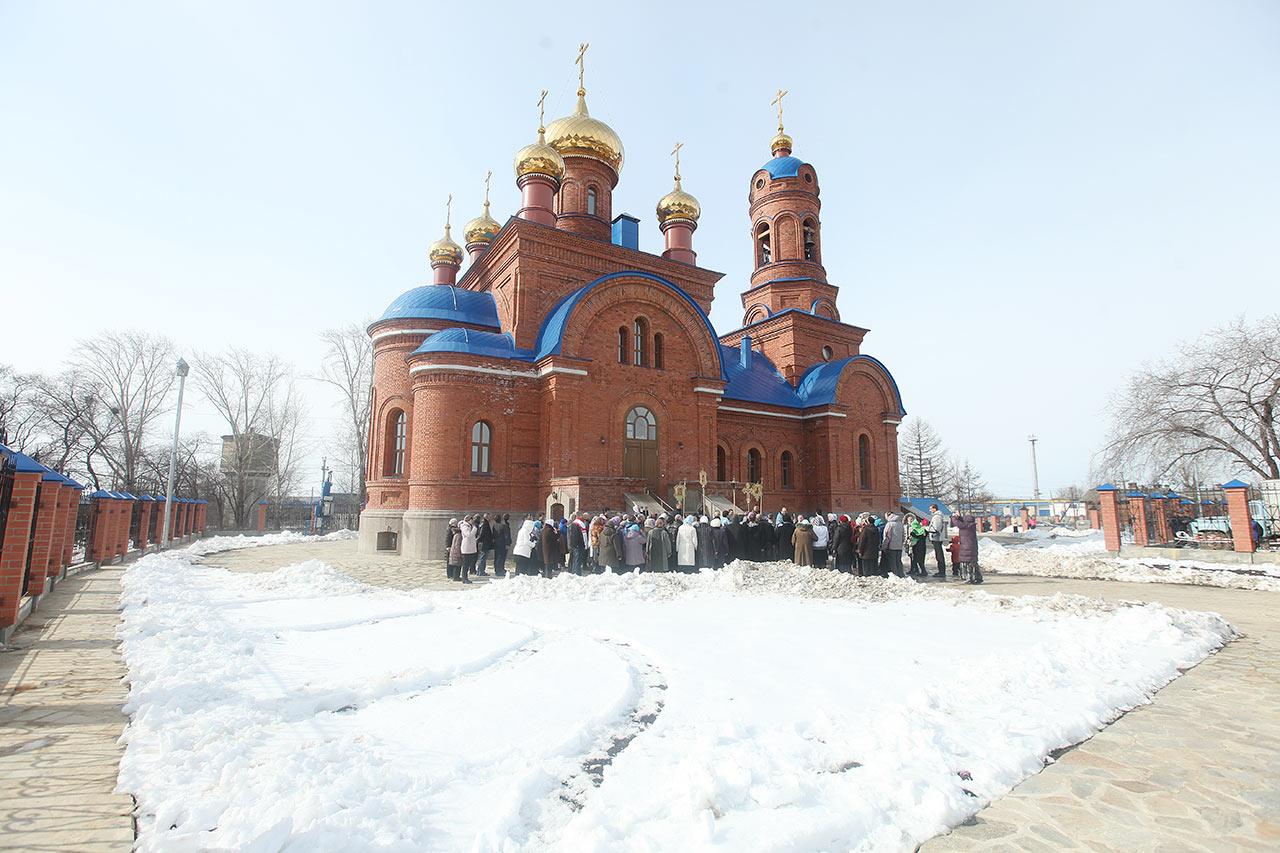 Внешний вид храма (апрель 2014) (21.05.2014)