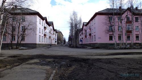 Фото города Инта №6662  Полярная 24 и Мира 1 16.05.2014_16:17