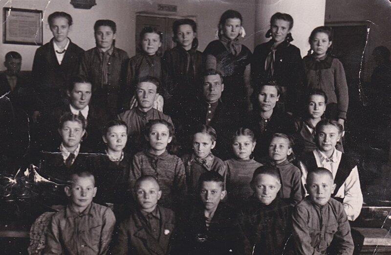 Пионеры 1950 года.