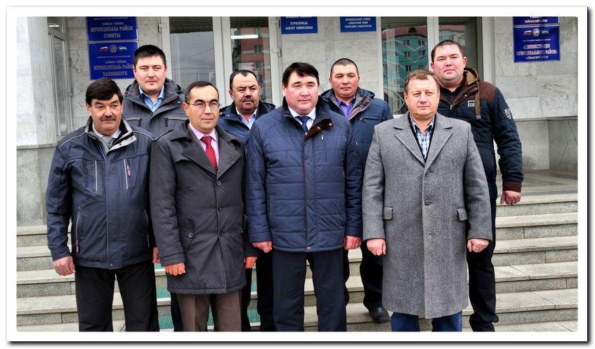 Баймакская делегация перед отъездом в Уфу.
