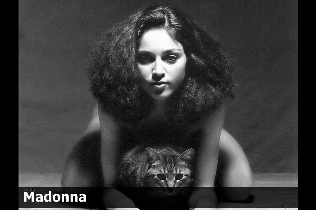 Oбнaженная 20 летняя Мадонна (фото)