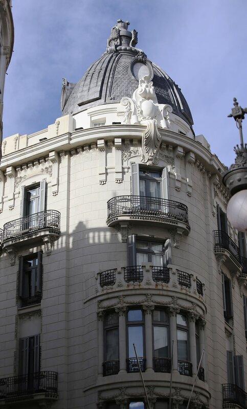 Валенсия. Plaza de Alfonso el Magnánimo