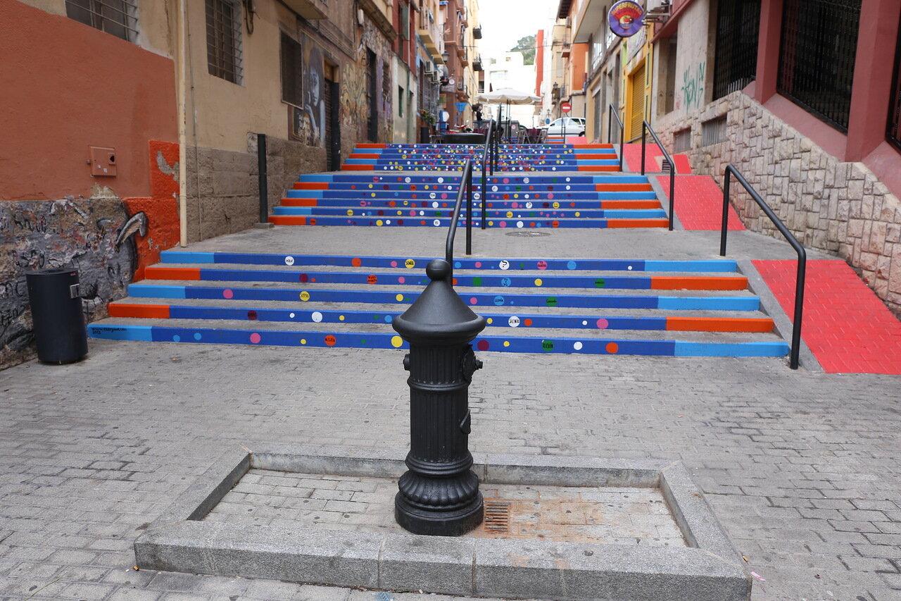 Аликанте. Проспект Мендеса Нуньеса (Rambla Méndez Núñez)