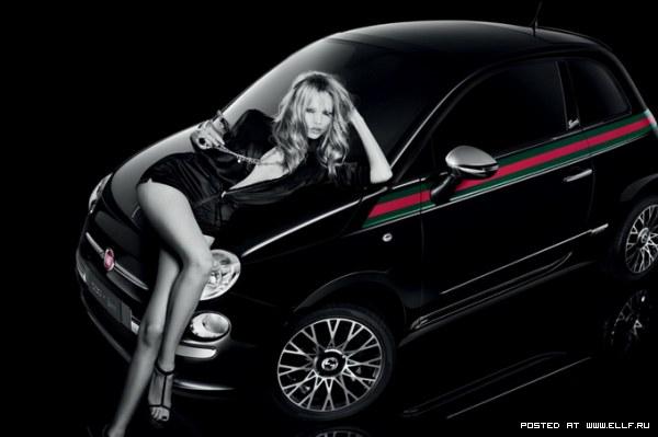 Наташа Поли в рекламе автомобиля
