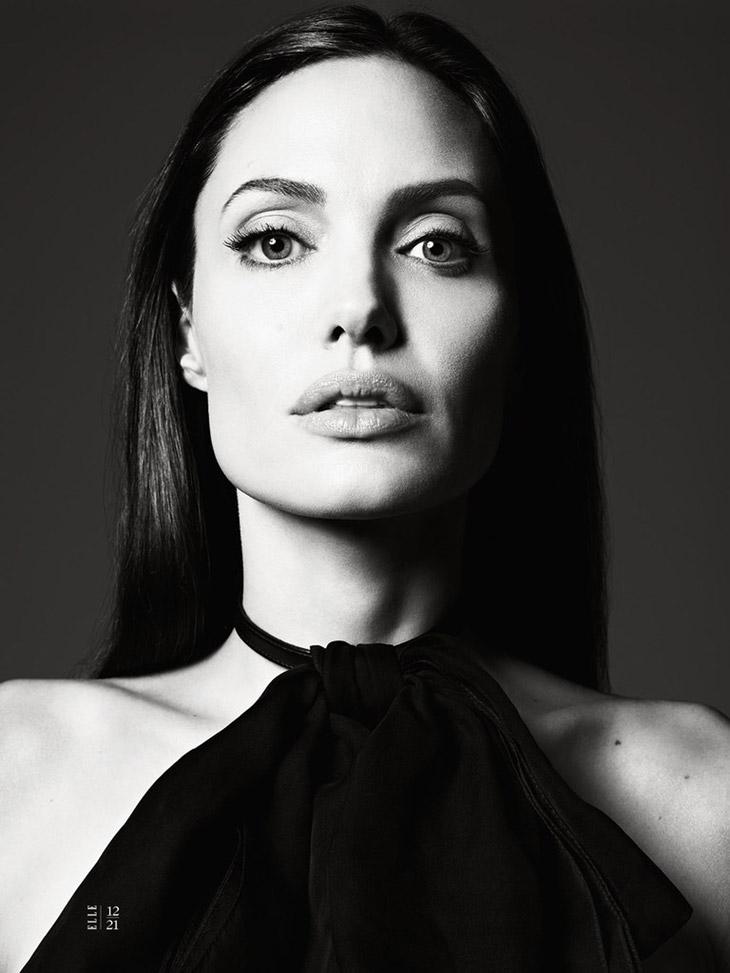 Анджелина Джоли в июньском номере журнала American Elle 2014