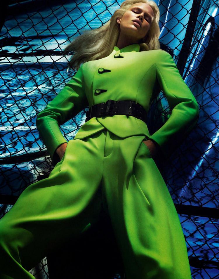 Анна Эверс в журнале Vogue Paris (13 фото)