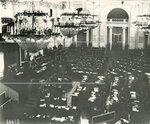 Совместное заседание Государственного Совета и Второй Государственной Думы в зале дворянского собрания.