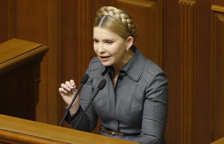 Тимошенко непретендует напремьера государства Украины, однако требует отставки Гройсмана