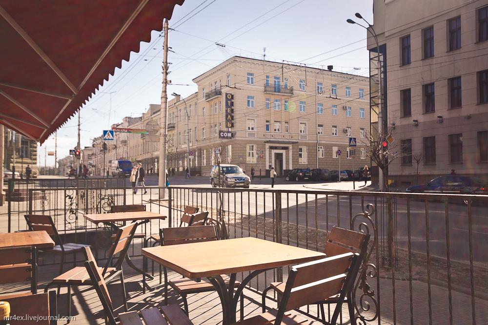 Гомель, застройка Гомеля, улица Советская
