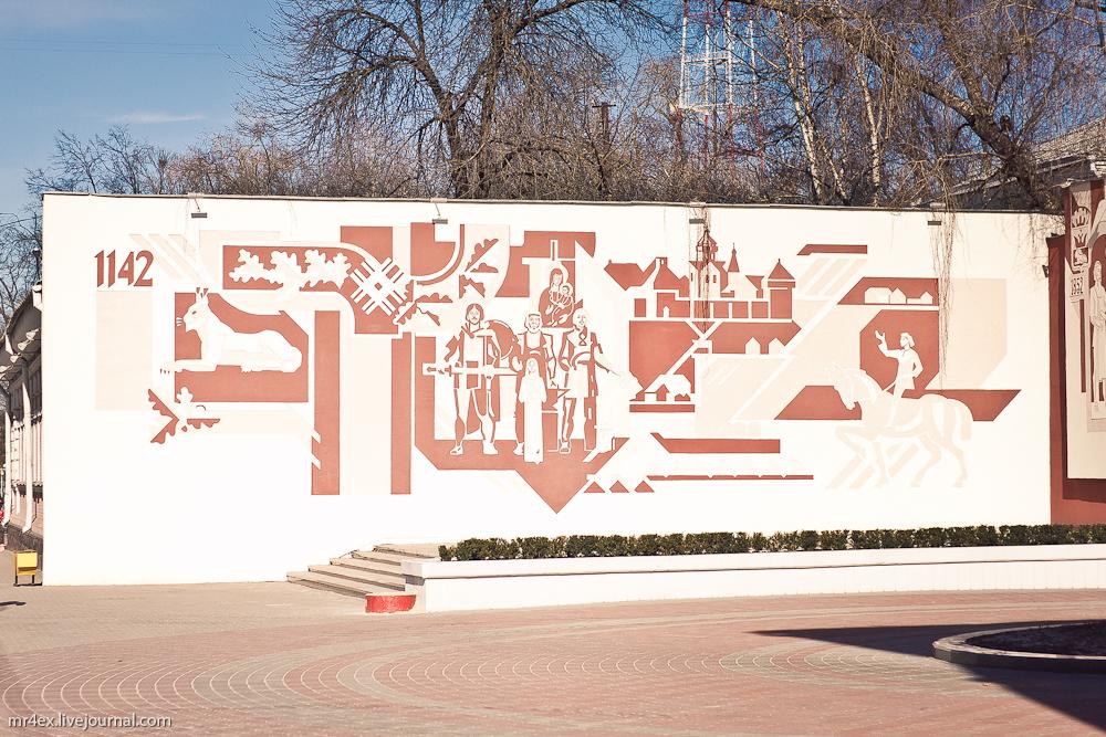 Гомель, улица Советская, сграффито