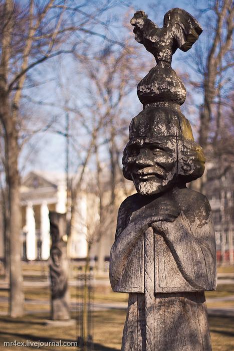 Гомель, улица Советская, Пионерский сквер