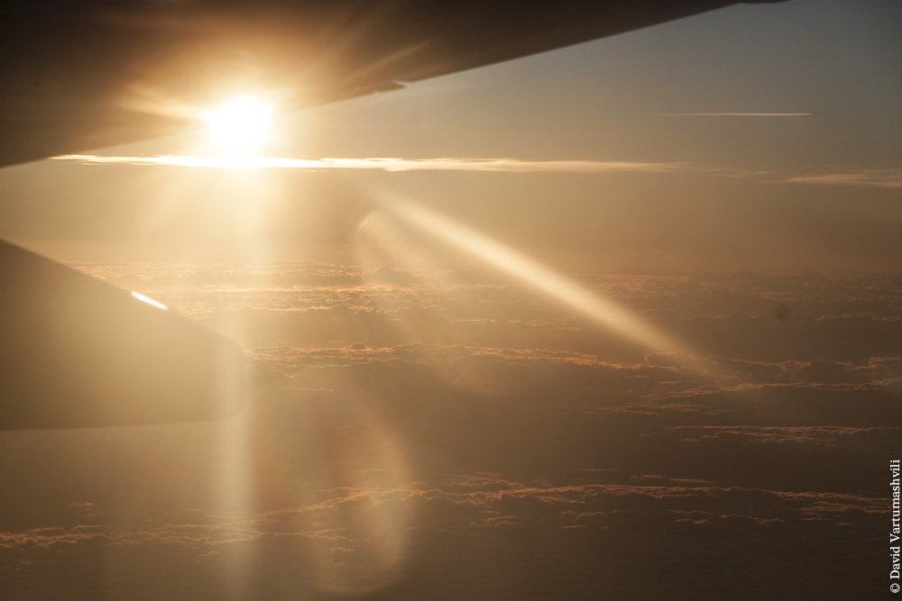 Конго ДР, перелет в Киншасу