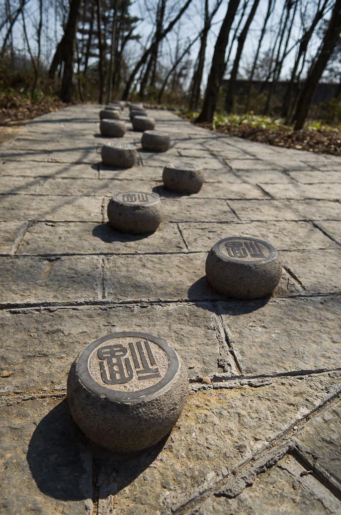 Фото 17. Загадочные ступеньки. Поездка в парк Чжанцзяцзе. Отзывы о путешествии в Китай.