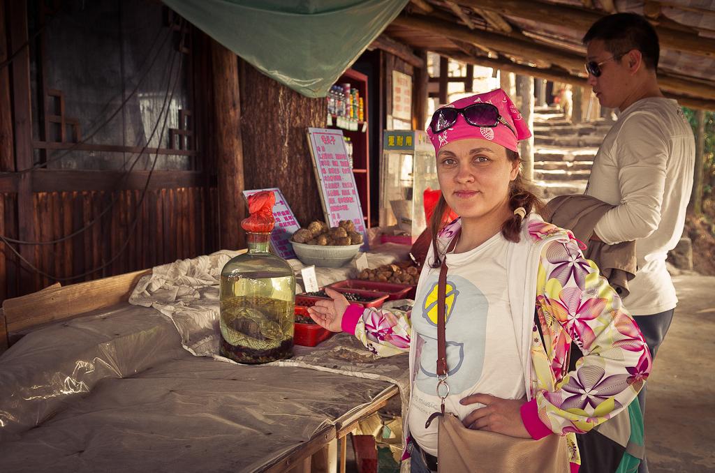 Фото 5. Хотите питона? Отчет о поездке в природный парк Чжанцзяцзе во время отдыха в Китае