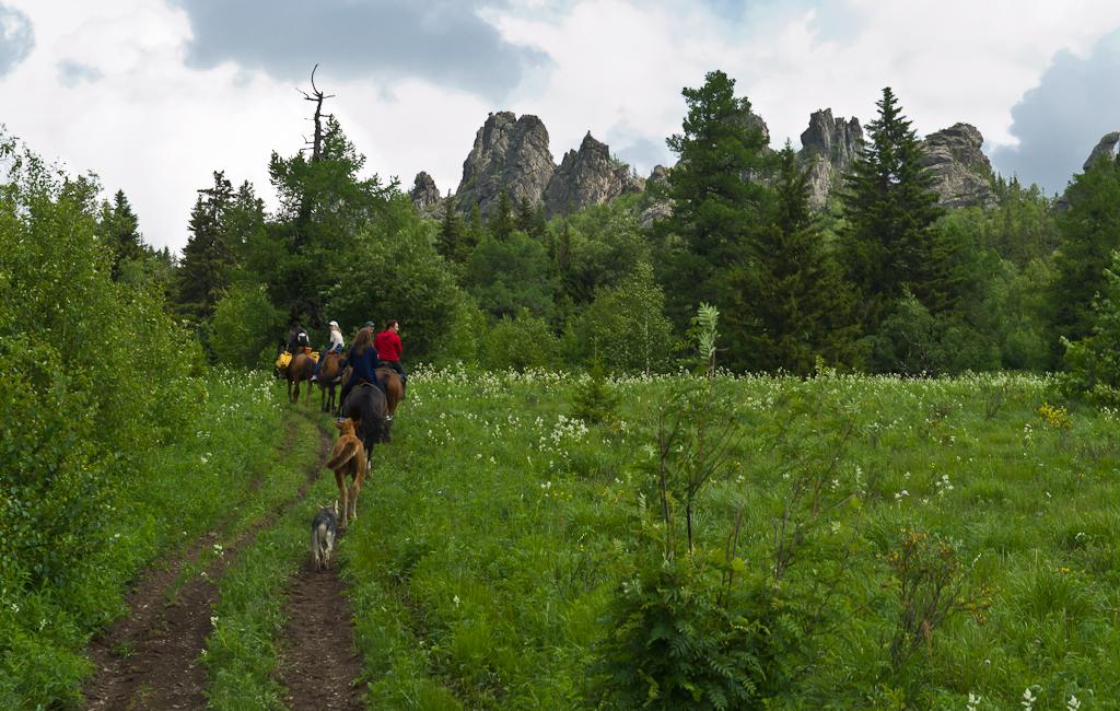 4. Восхождение на гору Ялангас в Башкирии. Близость вершин обманчива