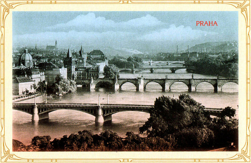 13. Мосты через Влтаву. 1922 год