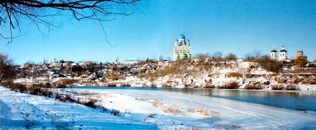 Современная панорама Ельца. Фото 2006 г.