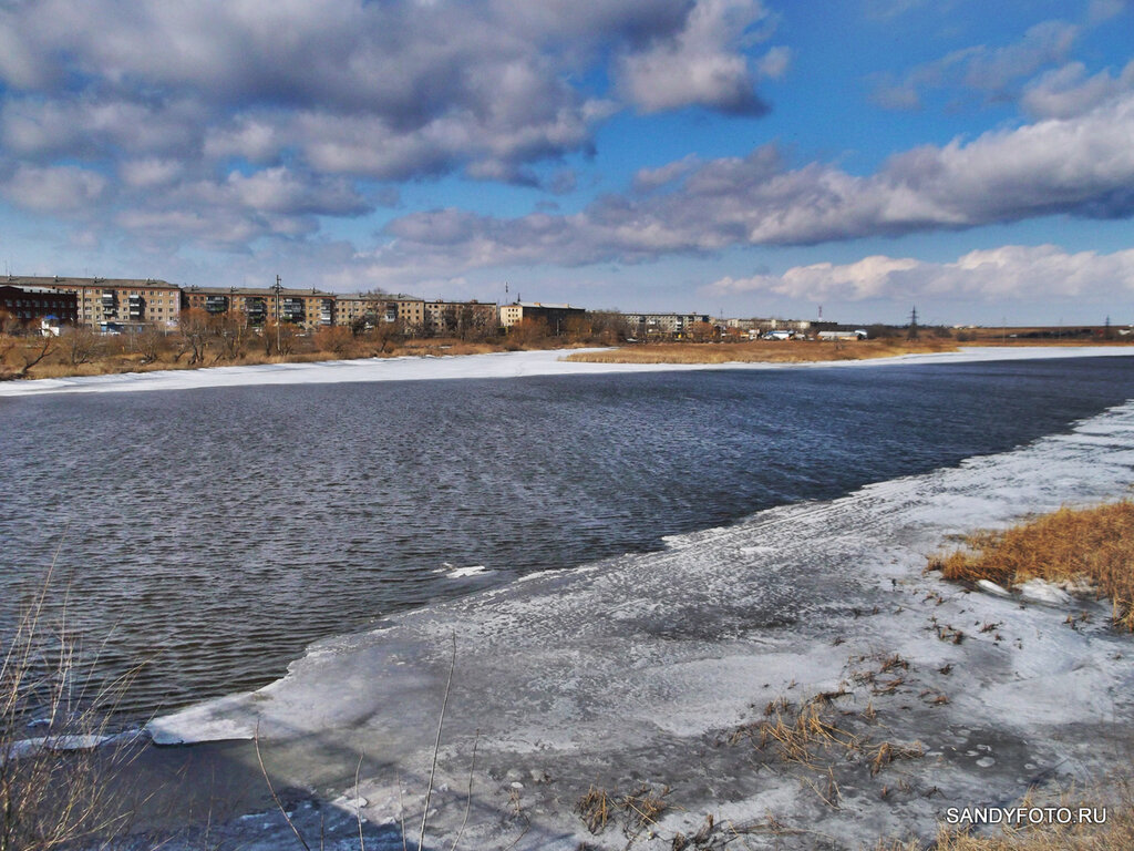 Река Увелька вскрылась