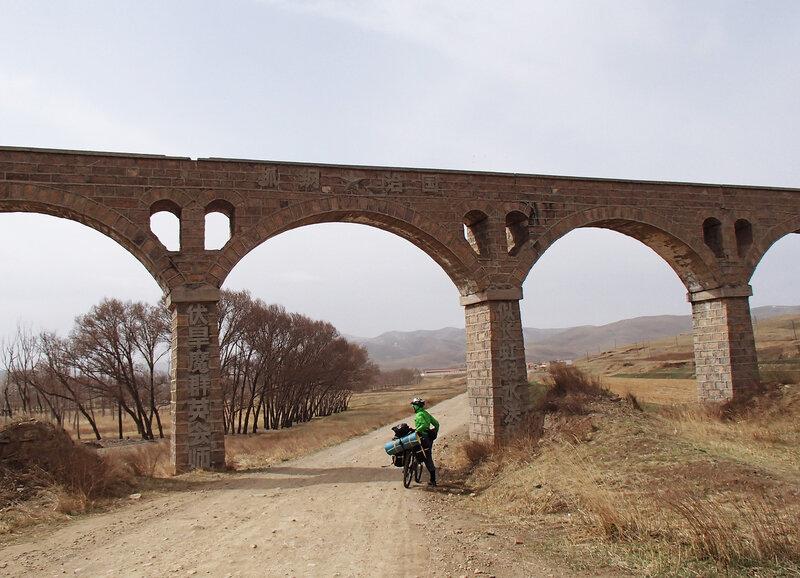акведук во внутренней монголии, китай