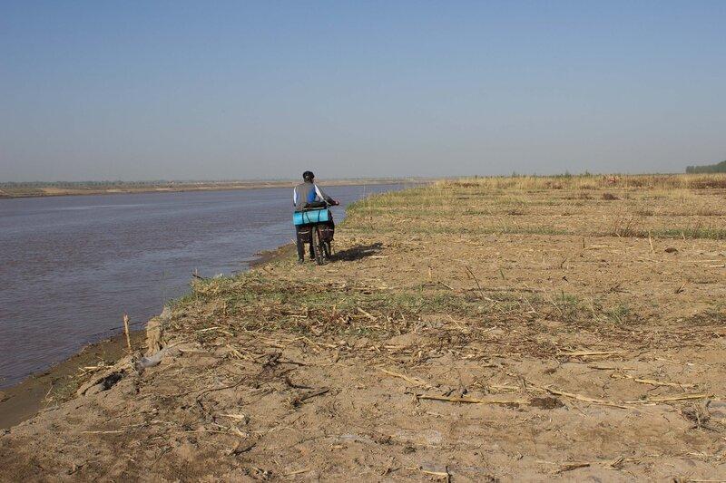 берег реки Хуанхэ