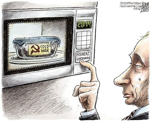 Reheating the Cold War — The Buffalo News, March 20, 2014 © Adam Zyglis