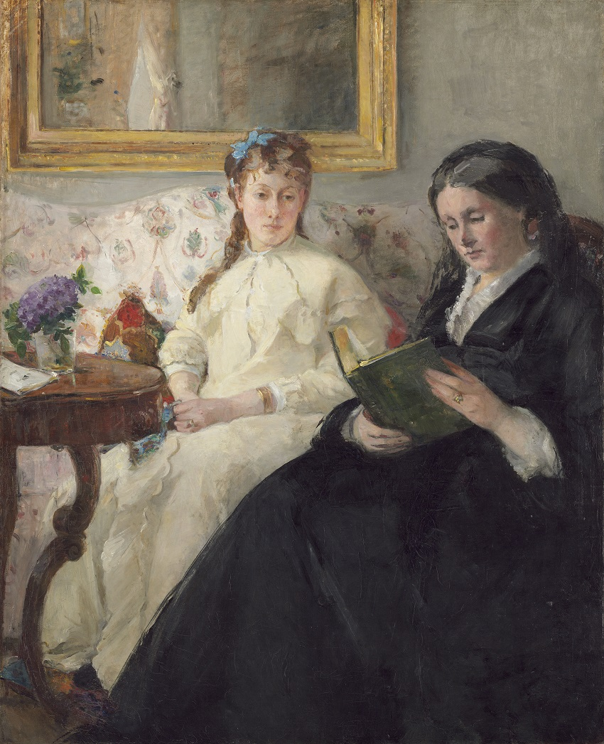 The Mother and Sister of the Artist, 1869/1870,