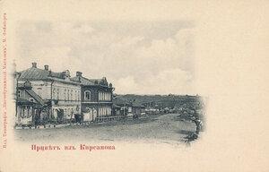Тамбовско-Саратовская улица на выезде из города