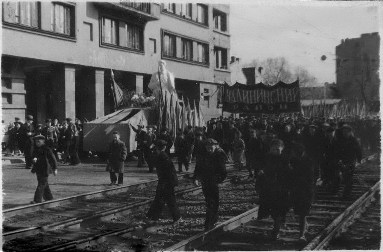 Ленинград. 1 мая 1951 года