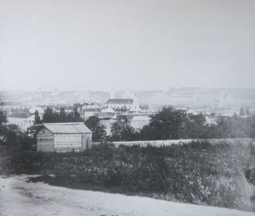 Вид от горы Таурус. 1861