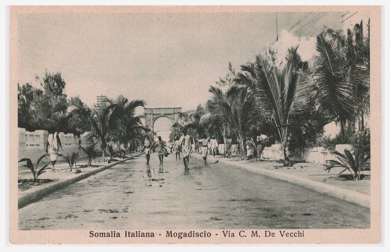 1930. Улица Чезаре Мария Де Векки
