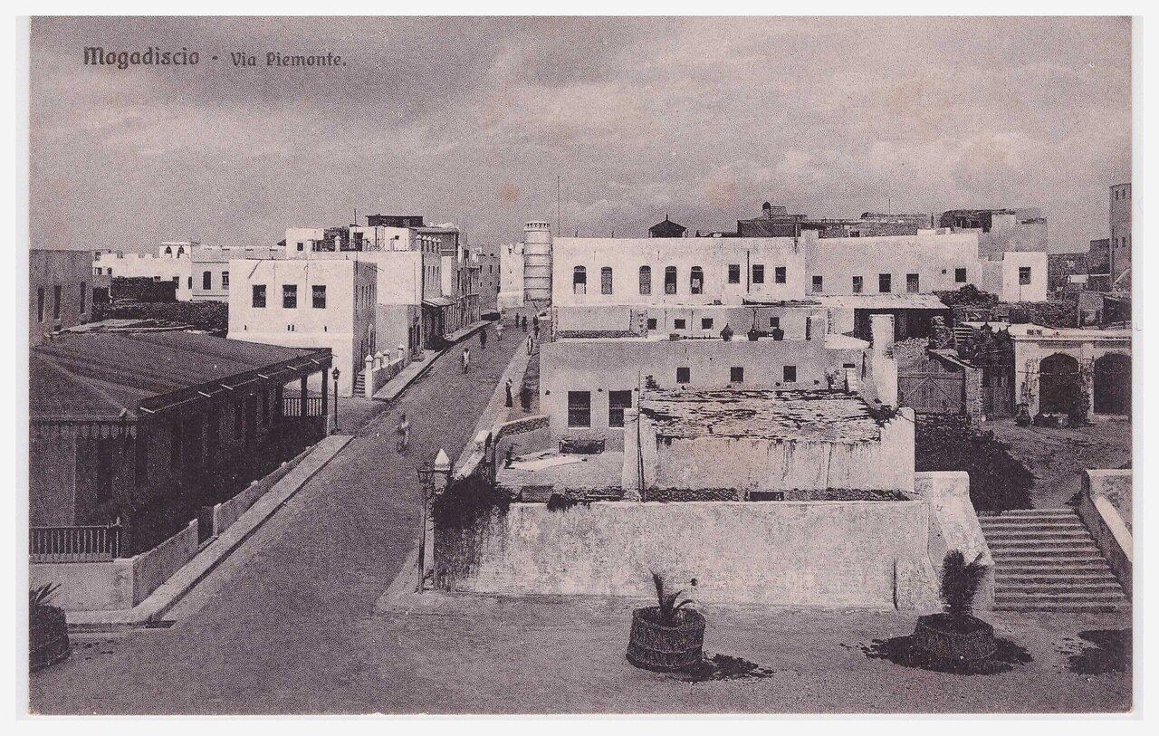 1930-е. Улица Пьемонт