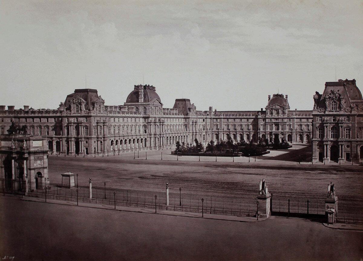 1857. Новый Лувр