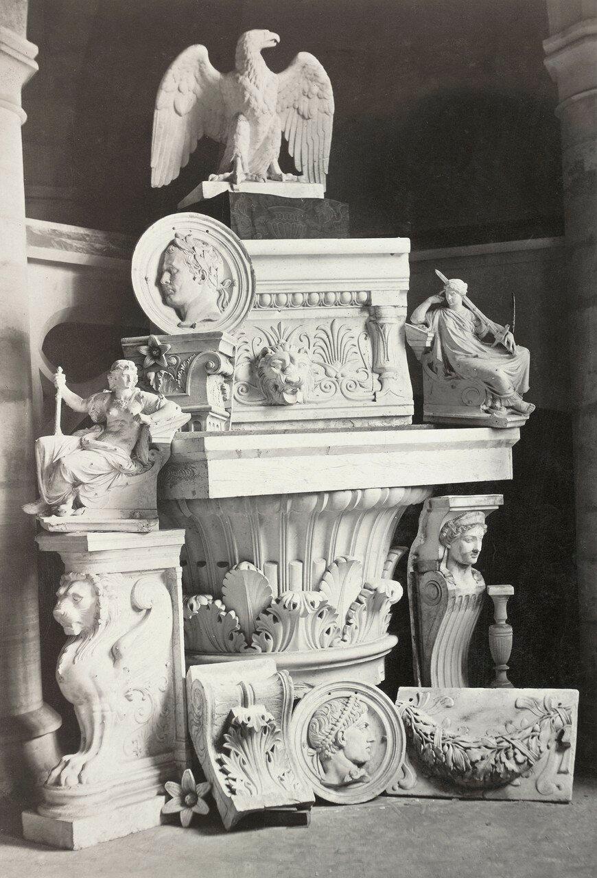 1861. Дворец правосудия. Интерьер