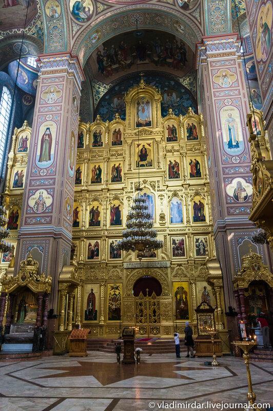 Спасо-Преображенский собор Николо-Угрешского монастыря