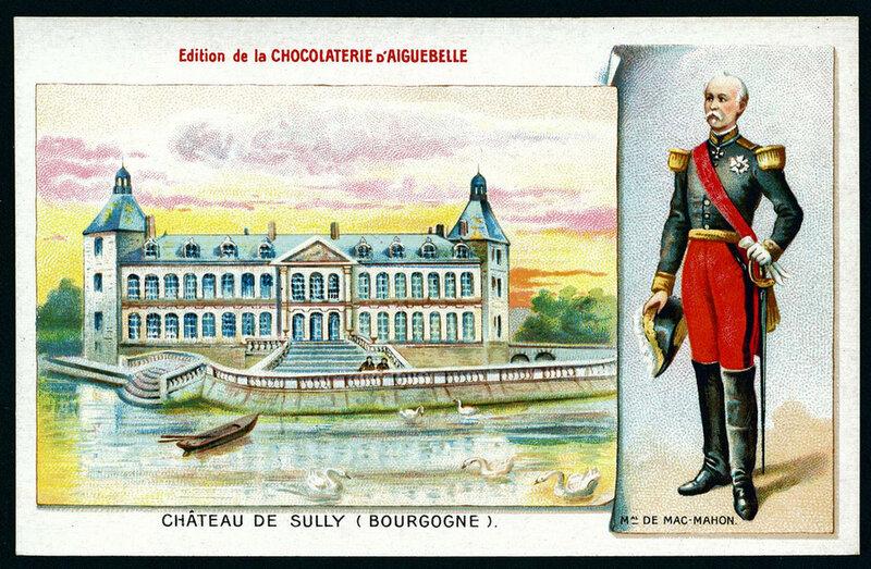 Замки мира на французских открытках 1900 года
