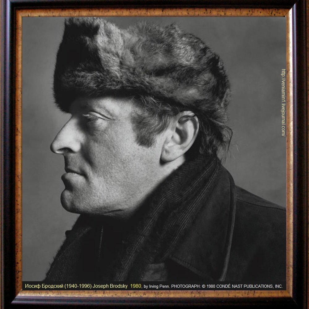 "Иосиф Бродский (1940-1996), Joseph Brodsky 1980 ,Photographed, in 1980, by Irving Penn. from The New Yorker,  "" Joseph Brodsky and the fortunes of misfortune."" by  Keith Gessen May 23, 2011, PHOTOGRAPH: © 1980 CONDÉ NAST PUBLICATIONS, INC.."