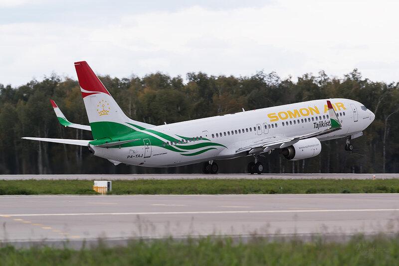 Boeing 737-93Y/ER (P4-TAJ) Somon Air D802865