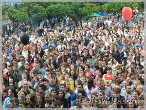 Как торжественно город Бельцы отметил своё 592-летие
