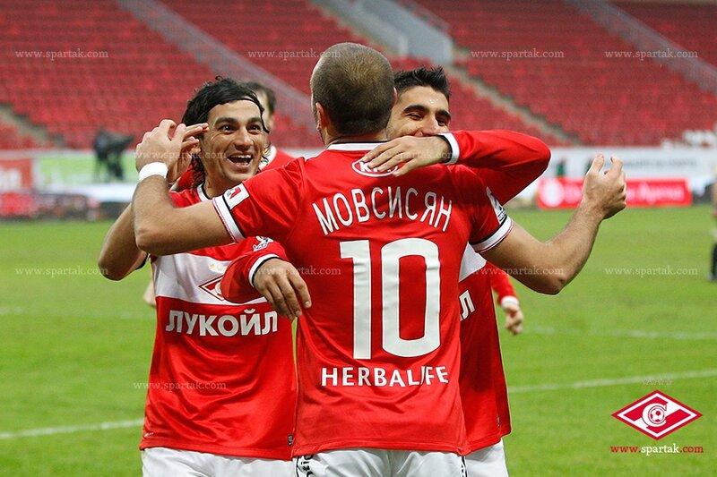 «Спартак» vs «Зенит» 4:2 Премьер-лига 2013-2014 (Фото)