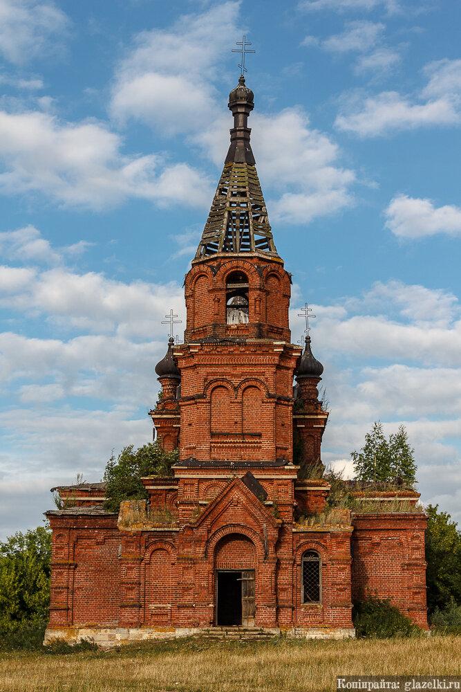 Максимов Починок, церковь Вознесения Господня. Колокольня.
