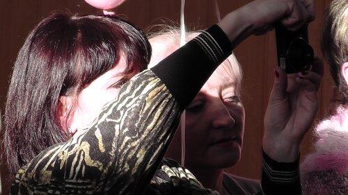 Концерт к Международному дню инвалида в детском доме ДОС. Виктория Лёгкая, Светлана Пискун