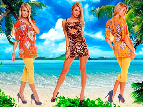 Женская одежда для отпуска