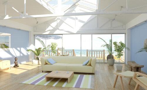 Красивый дом - разработка дизайна интерьера