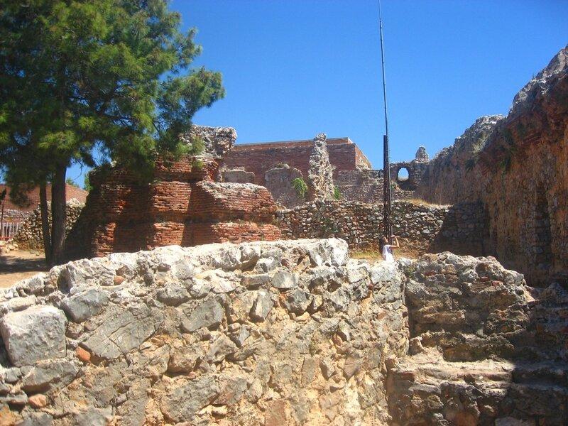 Ичкале, крепость Аланьи, Турция,