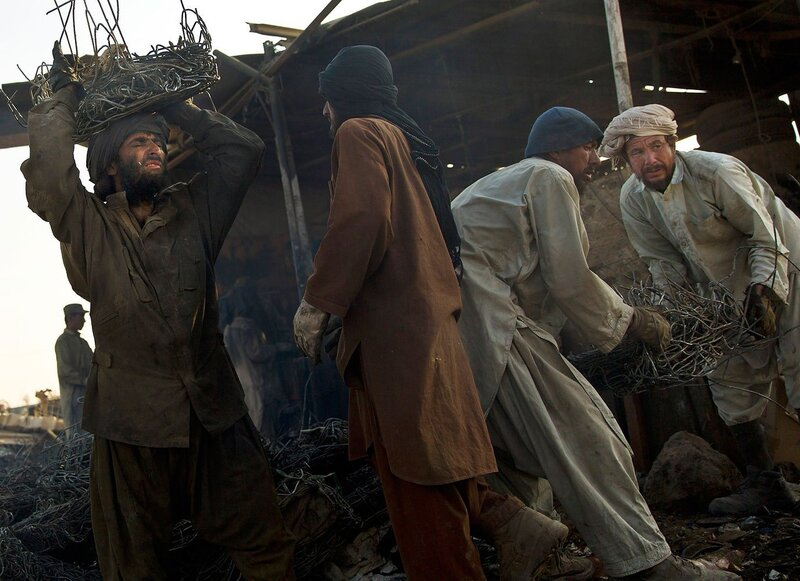 Afghanistan US Junk