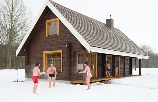 Баня. Зима