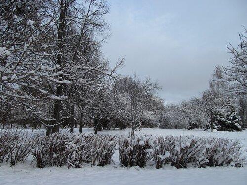 Тверь, пейзаж, снег