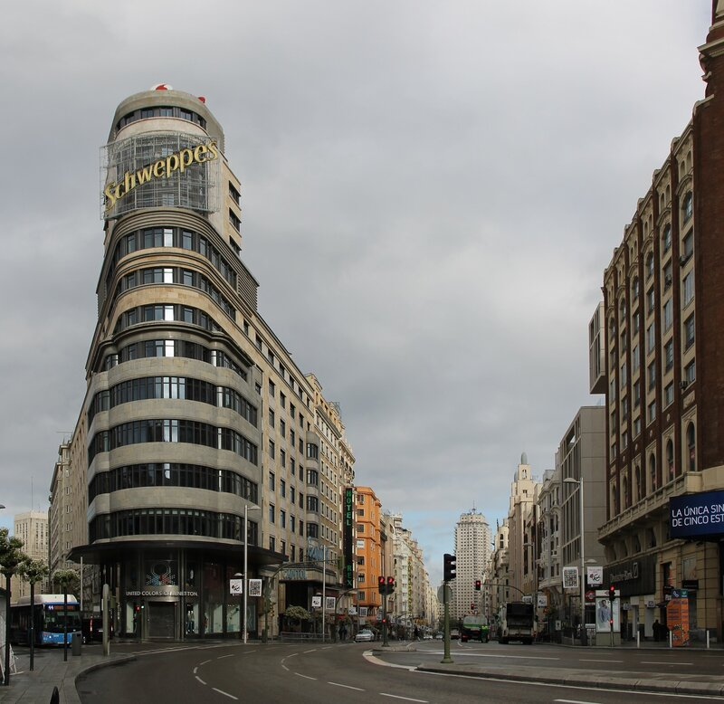 Мадрид. Здание Карьён (Edificio Carrión)