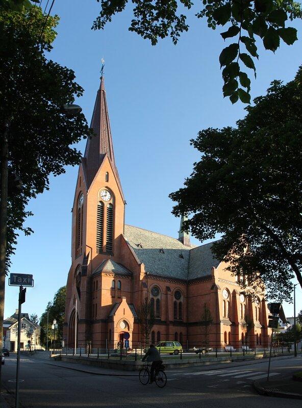 Haugesund.Church of the Savior. Vår Frelsers kirke