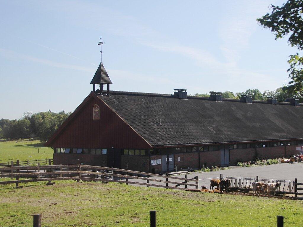 Осло. Музейный полуостров Бюгдой. Королевская ферма. Oslo,Bygdøy, Bygdø Kongsgård